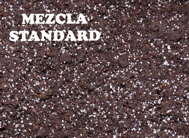 Peat moss + Quartz sand mix